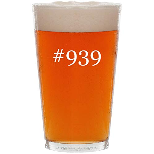 #939-16oz Hashtag All Purpose Pint Beer Glass