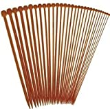 "14"" Inch Single Point StitchBerry Premium Collection Bamboo Knitting Needles (30 pcs., 15 Sets)"