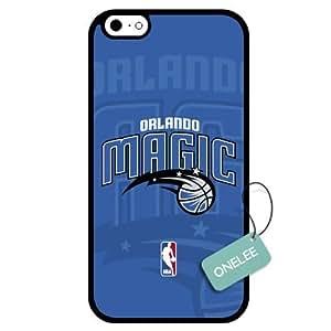(TCustomized NBA Orlando Magic Team Logo Design PC Case For HTC One M7 Cover Case CovBlack 02