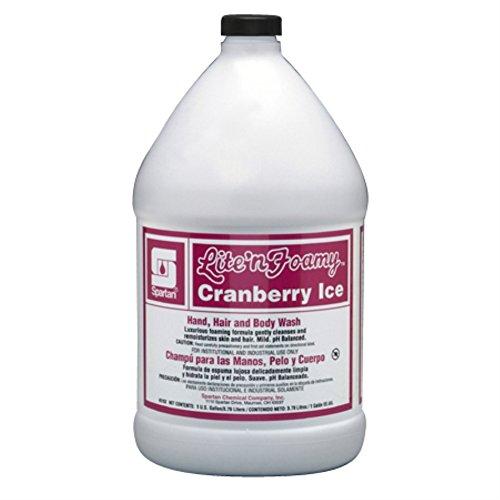 (Lite'n Foamy Cranberry Ice Lite'n Foamy # 315204, 4 gal per cs -(1 CASE))