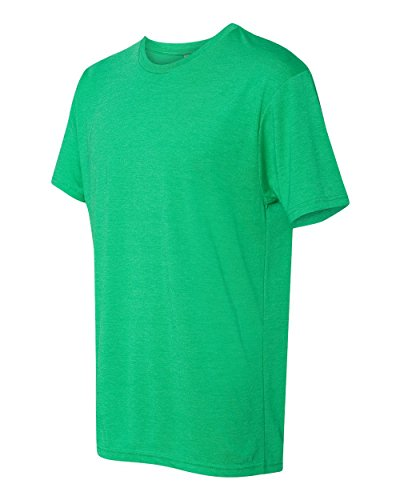 Next Level 6010 Men's Tri-Blend Crew Tee - Large - Envy