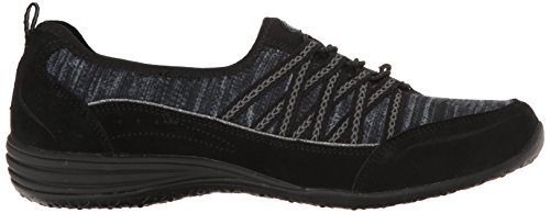 Mujer Skechers Bliss Unity eternal Y Gris Entrenadores Negro Para 4xTgw