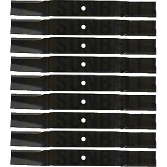Amazon.com: 9 cuchillas de repuesto para cortacésped XHT ...