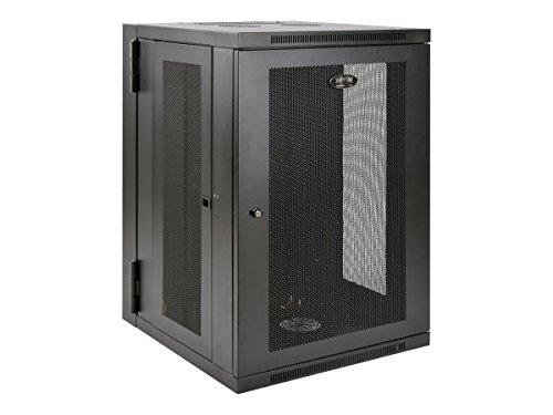 Tripp Lite 18U Wall Mount Rack Enclosure Server Cabinet, Hinged Back, 24.5 in. Deep, UPS-Depth (SRW18USDP)