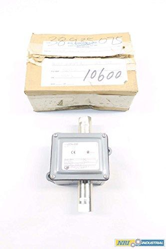 UNITED ELECTRIC J21K-232 DIFFERENTIAL PRESSURE SWITCH 0-25PSI D565214 - United Electric Differential Pressure Switch