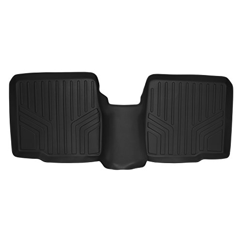 2012 2nd Row Floor Mats - MAX LINER B0082 Custom Fit Floor Mats Liner Black for 2011-2019 Ford Explorer Without 2nd Row Center Console