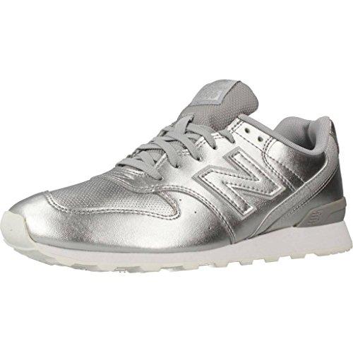New Balance Damen Laufschuhe, Color Silber, Marca, Modelo Damen Laufschuhe WR996 SRS Silber