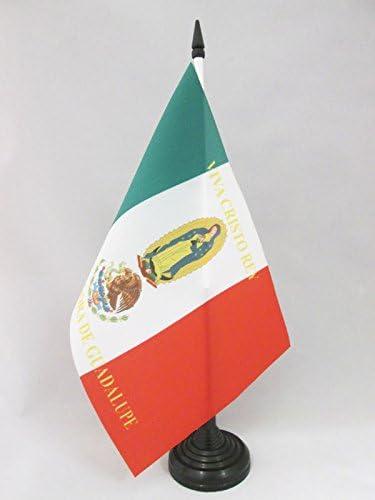 AZ FLAG Bandera de Mesa de MÉXICO Cristo Rey 21x14cm - BANDERINA ...