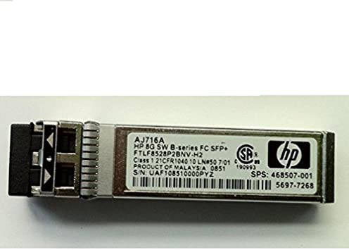 SHORT WAVE INDUSTRIAL EXTENDED TRANSCEIVER NEW 793443-001 E7Y09A HP 16GB SFP