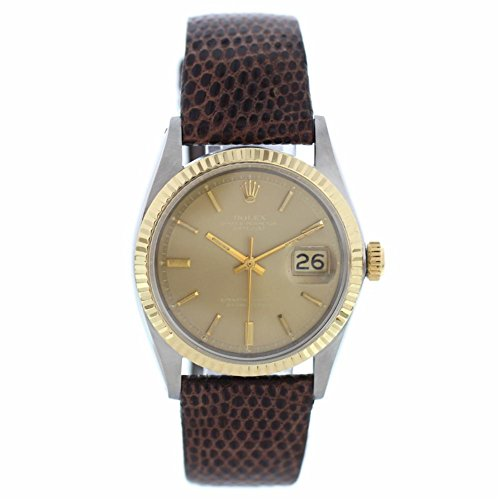 Rolex Datejust automatic-self-wind mens Watch 1601 (Certified Pre-owned)