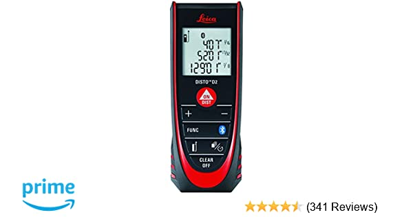 Leica DISTO D2 New 330ft Laser Distance Measure with
