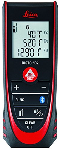 leica disto d2  Leica DISTO D2 New 330ft Laser Distance Measure with Bluetooth 4.0 ...