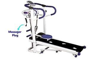 Skyland, 4 in 1 Magnetic Foldable Flat Walker Treadmill - EM-1301