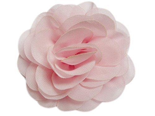 yycraft Pack de 10Chifón 8,9cm Flor U Pick Princesa, rosado bebé