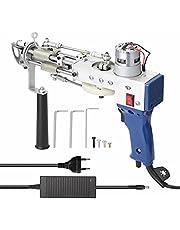 Elektrikli Halı Tafting Dokuma Makinesi Profesyonel Akın Cihazı Endüstri Nakış Aleti Kesik Kazık Döngü-Kazık Örme Ekipmanları MAYIS