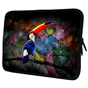 "Conseguir Bird Patrón 7 ""/ 10"" / 13 ""Laptop Sleeve Case para el MacBook Air Pro / Ipad Mini / Galaxy Nexus Tab2/Sony/Google 18177 , 13"""