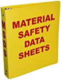 Product review for Brady BR823A Binder, Material Safety Data Sheets