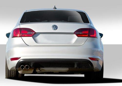 Duraflex ED-KUI-375 GLI Look Rear Bumper Cover - 1 Piece Body Kit - Compatible For Volkswagen Jetta 2011-2014