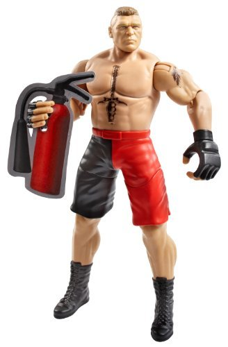 WWE Super Strikers 6 Brock Lesnar Action Figure by Mattel