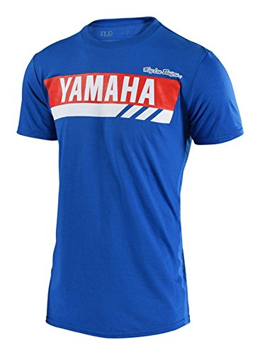 Troy Lee Designs 2018 Yamaha RS1 T-Shirt-Blue-XL
