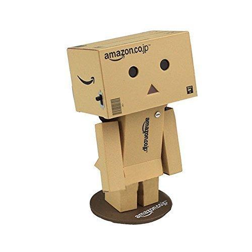 Gaobei Revoltech Danboard Mini Danbo Figure Box Gift Toy, Amazon.co.jp Logo by sukjames
