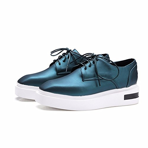 Nuestros zapatos con plataforma de exportación tamaño zapatos zapatos de ocio estudiantes Ms. green