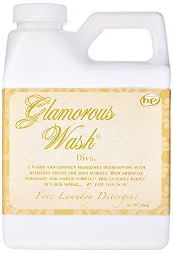 Tyler ENTITLED Fragrance Glamorous Wash 16 oz Fine Laundry Detergent by Candles (Glamorous Fragrance)