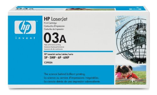 HP C3903A LaserJet 5P Microfine Printer Cartridge (4000 Yield), Office Central