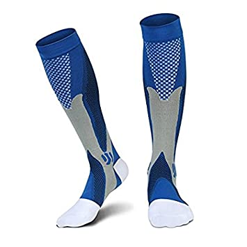 Acelec calcetines de compresión para hombres y mujeres, de rendimiento, grado mé