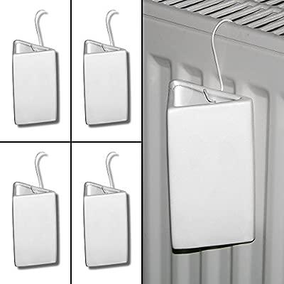 Lantelme 7623/cer/ámica humidificadores para radiadores para Trapezoidal en 4/Unidades Set/ /Humidificador con Gancho de Metal /Humidificadores/
