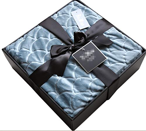 High-Grade Blanket Gift Box Gift Coral Carpet Fall Travel Home Washable Warm Solid Color 167X229CM Winter Thickening Cashmere Leisure Lunch Break Bed