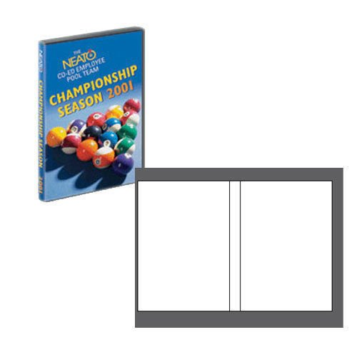 NEATO Laser Gloss DVD Case Inserts - 500 Pack - DIP-192508