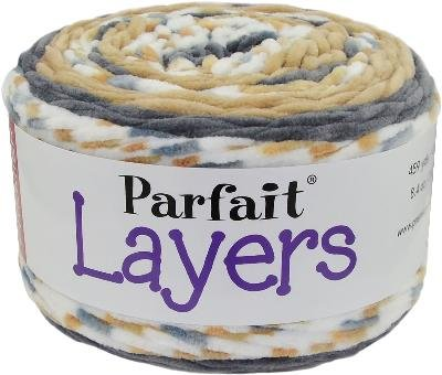 Premier Yarns 1070-13 Parfait Layers Yarn Sand Castle, Yellow ()