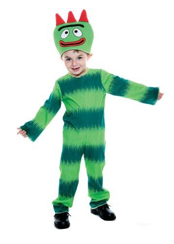 Yo Gabba Gabba Brobee Toddler Costume, 2T -
