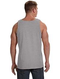 Men's Hemmed Bottom Tank Top, Athletic Heather, Medium