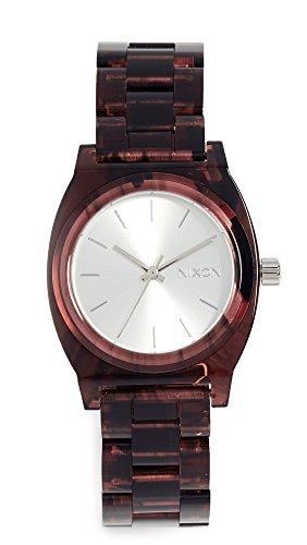Nixon Women's Medium Time Teller Watch, 35mm, Red, One Size