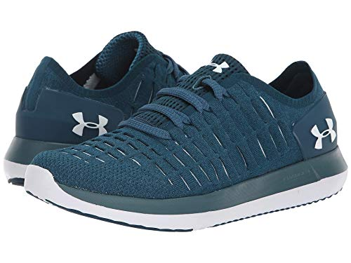 [UNDER ARMOUR(アンダーアーマー)] メンズランニングシューズ?スニーカー?靴 UA Slingride 2 Techno Teal/Techno Teal/White 14 (32cm) D - Medium