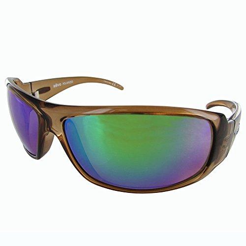 Revo Adult Gunner Polarized Sunglasses, Light Amber/Green Water, One - Gunner Sunglasses