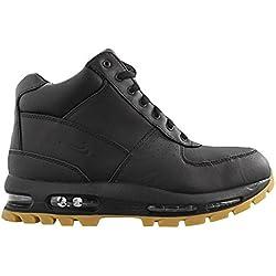 Nike Mens Air Max Goadome Boots Black/Black-Gum Light Brown 865031-017