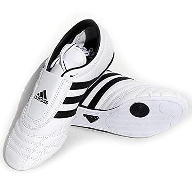 Ei9h2wd Sm2 Adidas Leder Taekwondo Schwarzen Streifenweißschwarz Schuhe fgyYb76v