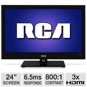 """RCA 24"""" Class LED HDTV"""