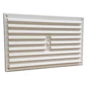 Home smart rejilla de ventilaci n pl stico regulable - Rejilla de ventilacion regulable ...