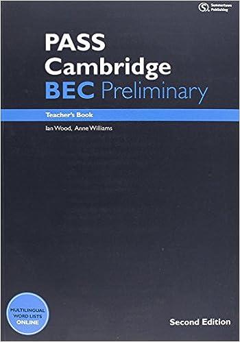 Book PASS Cambridge BEC Preliminary: Teacher's Book by Ian Wood (29-Mar-2012)