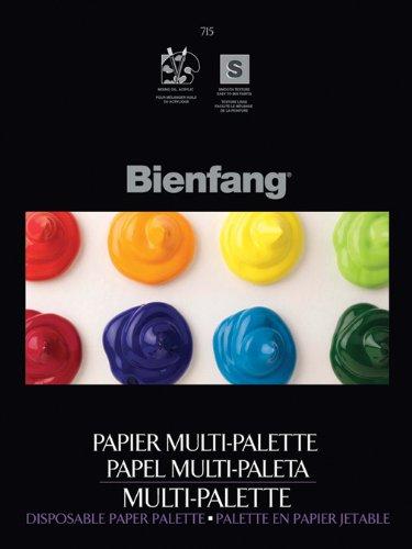 Bienfang 9 by 12-Inch Multi-Palette Disposable Palette, 50 Sheets