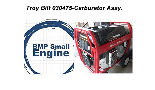 CARBURETOR WITH PETCOCK//FUEL COCK fits TROY BUILT LOW PROFILE CARB