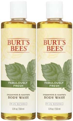 Burt's Bees Body Wash - Peppermint and