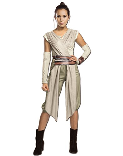 Star Wars The Force Awakens Adult Costume,Beige, Large
