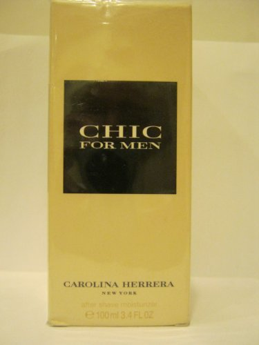 CHIC For Men by Carolina Herrera - After Shave Moisturizer 3.4 Oz. by Carolina Herrera