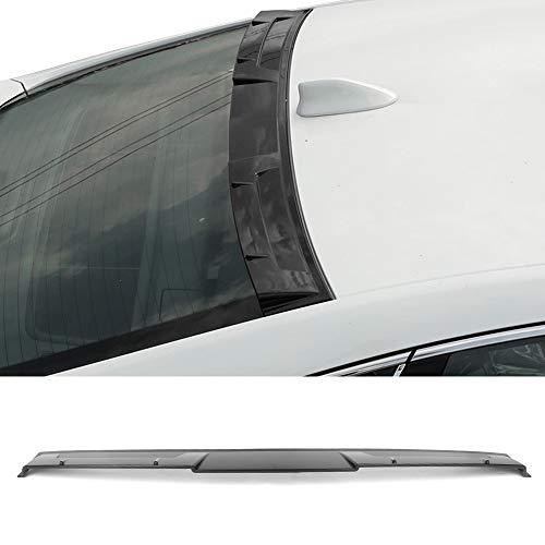 Fits 18-19 Honda Accord Ikon Style Roof Spoiler Matte Black Primer ABS By IKON MOTORSPORTS