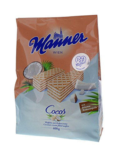 - Manner - Wafers, Cocos - 400 g